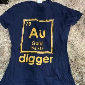 Chemistry Gold Digger TSHIRT